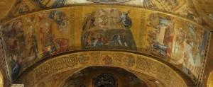 Mosaici - Arcone sopra l'Iconostasi