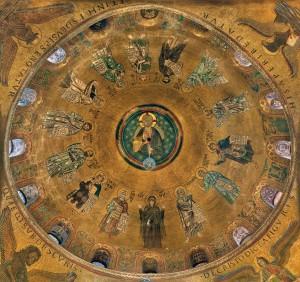 Mosaici - Cupola dei Profeti
