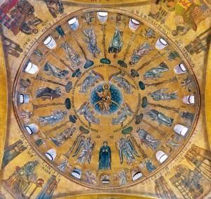 Mosaici - Cupola dell'Ascensione