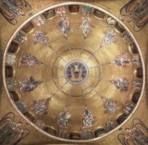 Mosaici - Cupola della Pentecoste