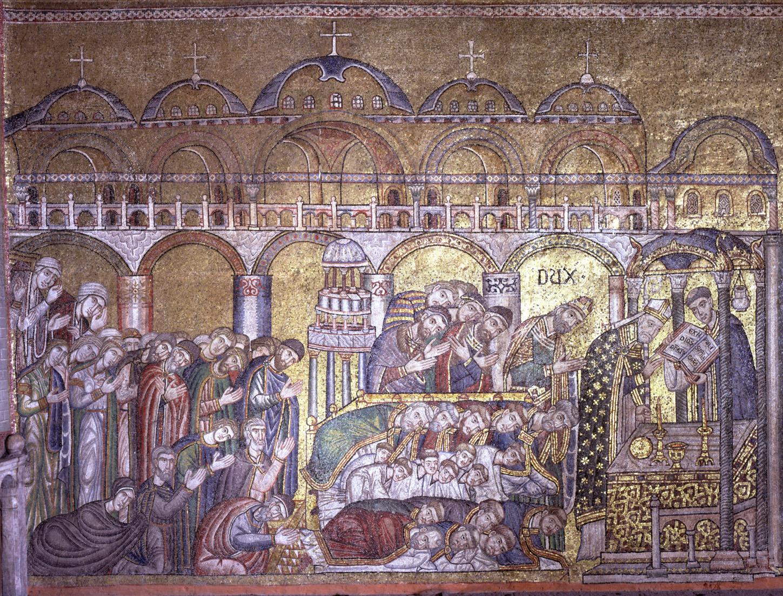 Basilica san marco storie di san marco for Esterno basilica di san marco