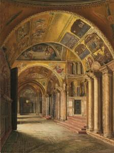 Mosaici - Veduta dell'Atrio