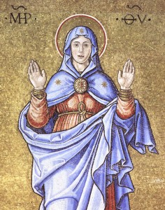 Mosaici - Vergine 1